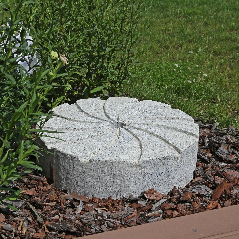 Springbrunnen garten granit granitbrunnen gartenbrunnen for Granit deko garten