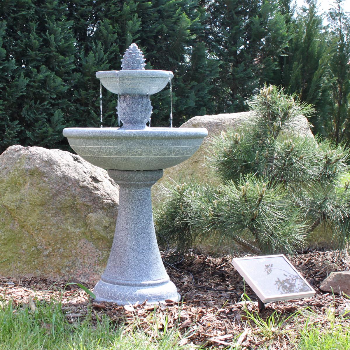 Solar Springbrunnen Garten : solar springbrunnen garten brunnen gartenbrunnen ~ A.2002-acura-tl-radio.info Haus und Dekorationen